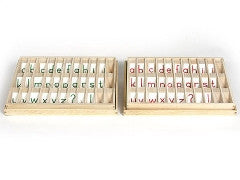 Advanced Movable Alphabets and Wooden Boxes (OUT OF STOCK)