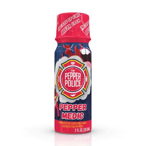 The Pepper Police™ - Pepper Medic, 2 Pack of Shooters
