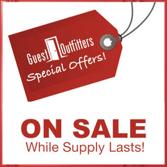 Sale Items at GuestOutfitters.com - While Supply Lasts!