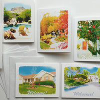 Custom Notecards for Airbnb, VRBO, Turnkey Vacation Rentals