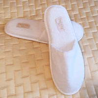 Frette 1860 Luxury Disposable Hotel Slippers at GuestOutfitters.com