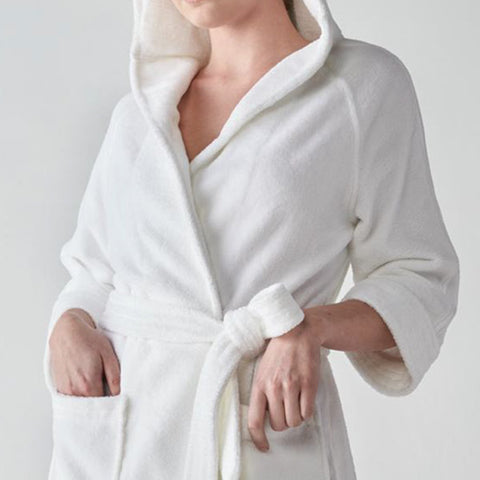 """Rachel"" A Luxurious Bathrobe by Heidi Wiesel 