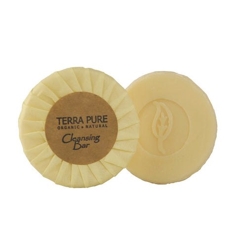 Terra Pure Green Tea Cleansing Bar, .6oz. | Hotel Size Soap at GuestOutfitters.com
