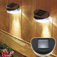 Solar Lights for a Wall or Fence Mount