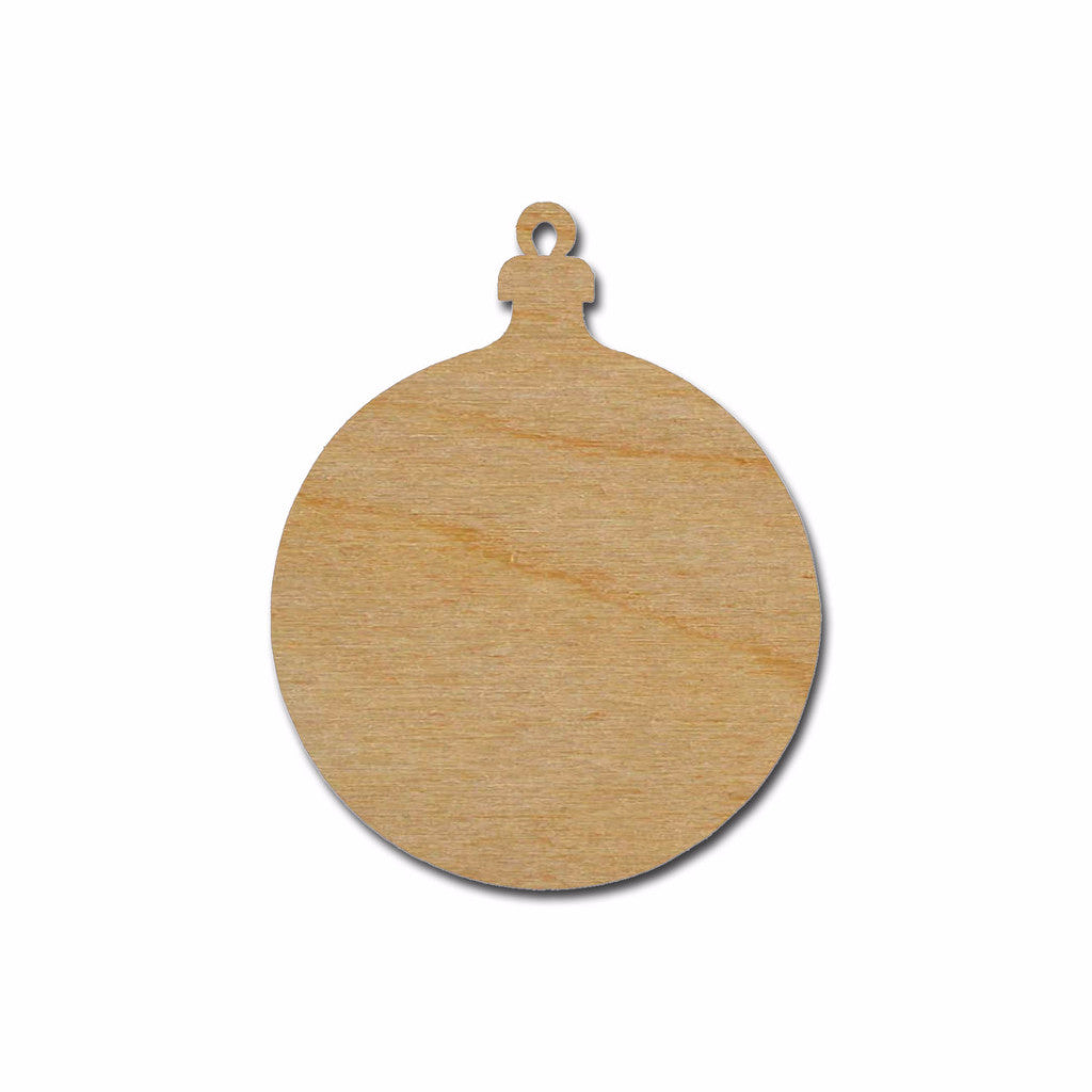 Ornament Shape Unfinished Wood Cutout Variety of Sizes ORN4