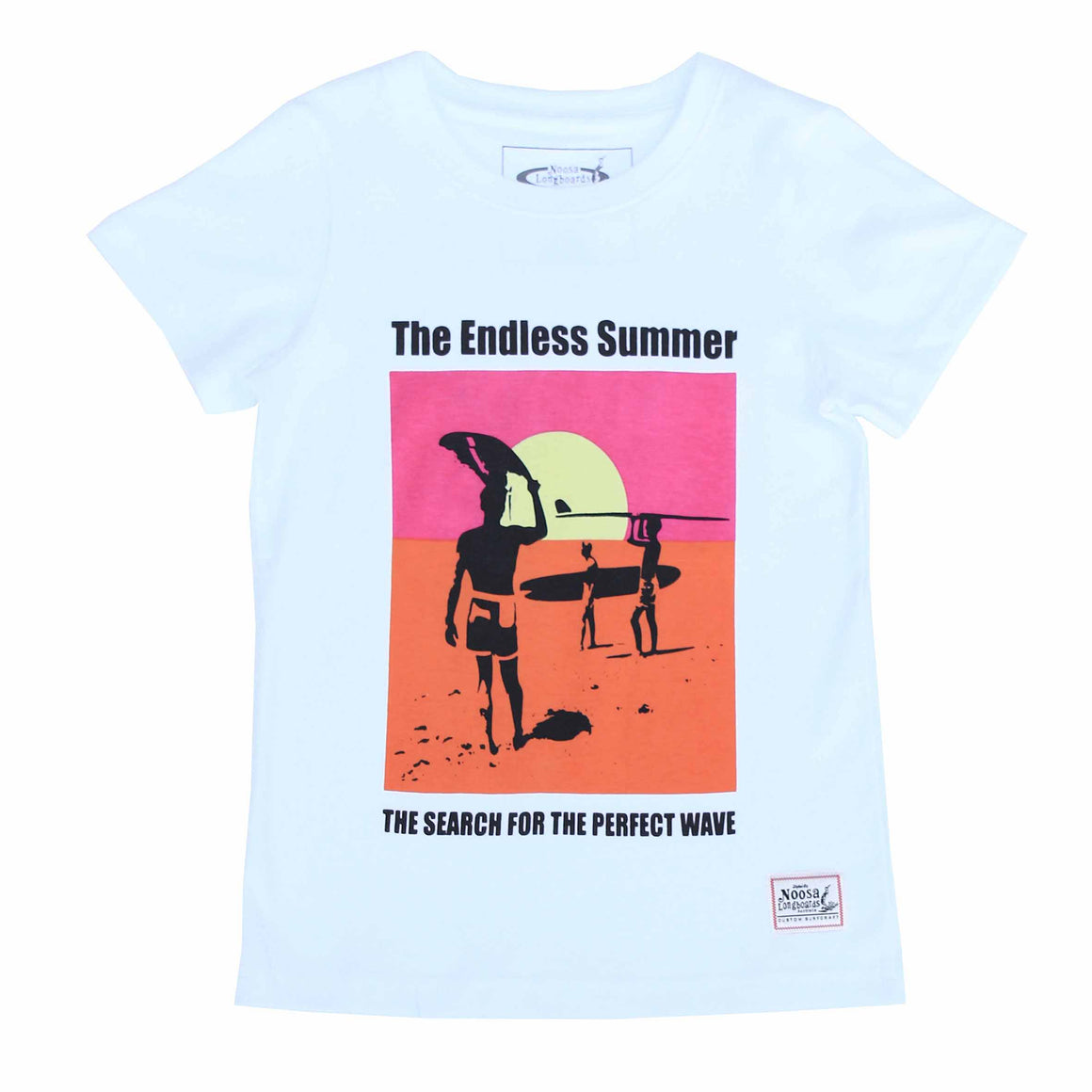 Kids Endless Summer Tee Neon