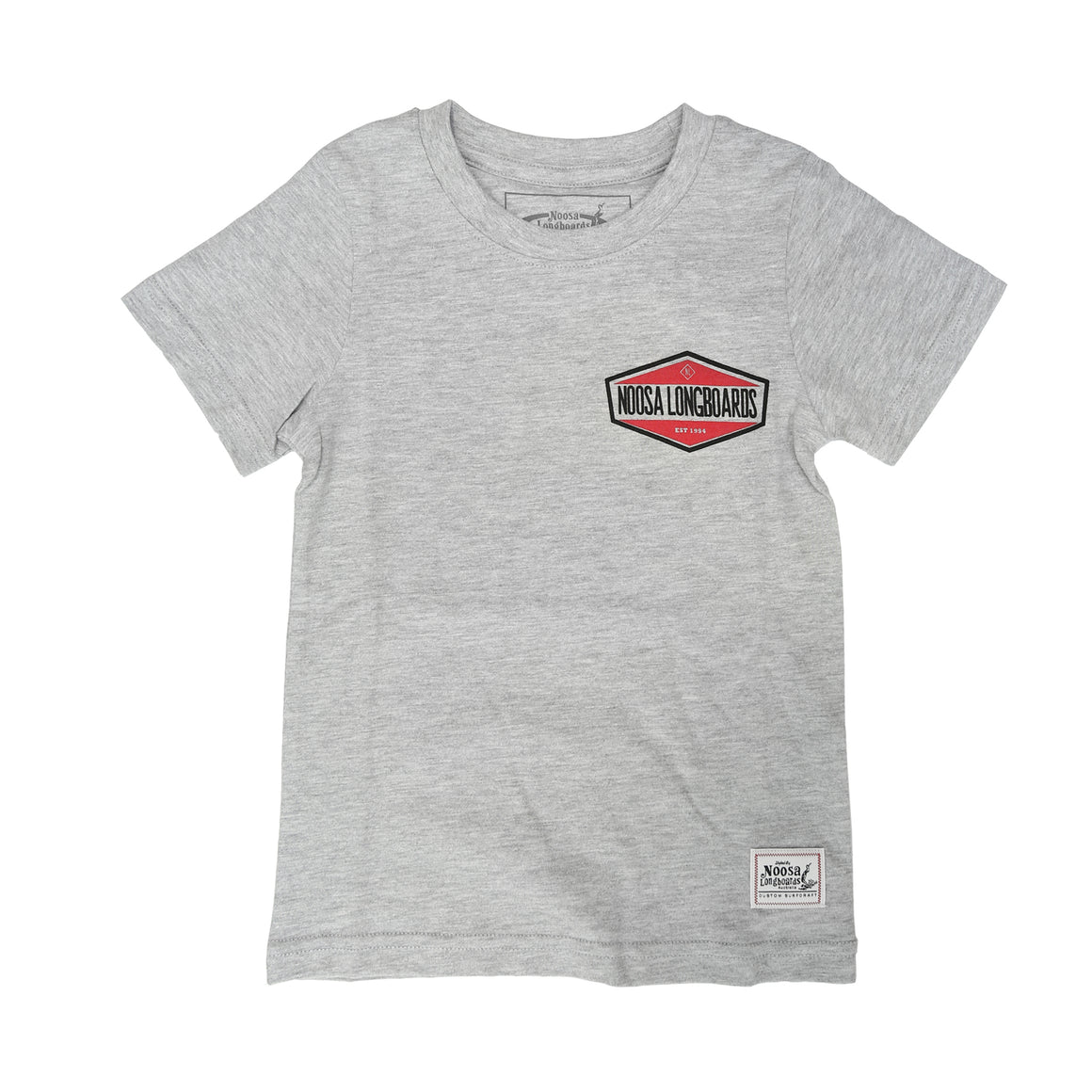 Kids NL Hex Tee Grey Marle