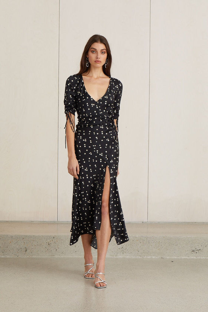 Bec & Bridge Miss Daisy Wrap Dress