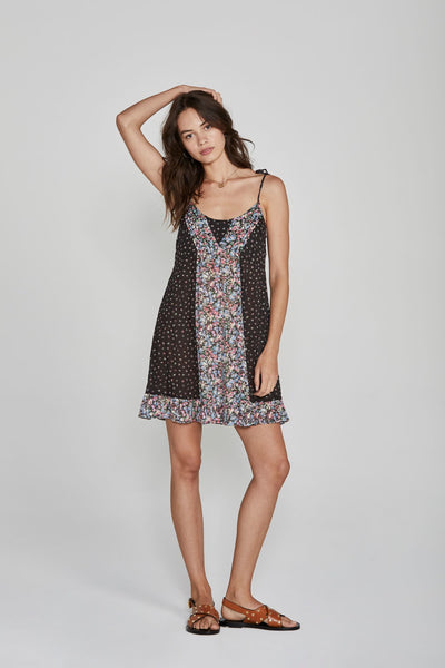 Auguste Palm Springs Dawn Mini Dress Black