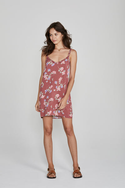 Auguste Rosa Honey Slip Mini Dress