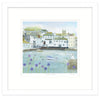 Falmouth Flowers Small Framed Print