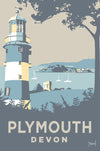 Plymouth Print Small