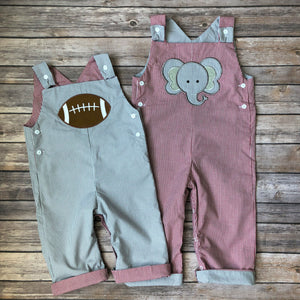 Elephant & Football Reversible Overall