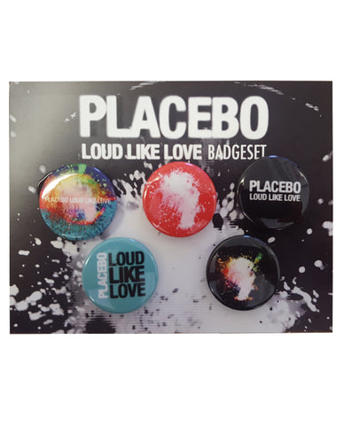 Placebo Badge Set