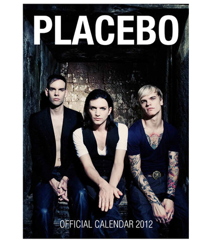 Placebo 2012 Official Calendar