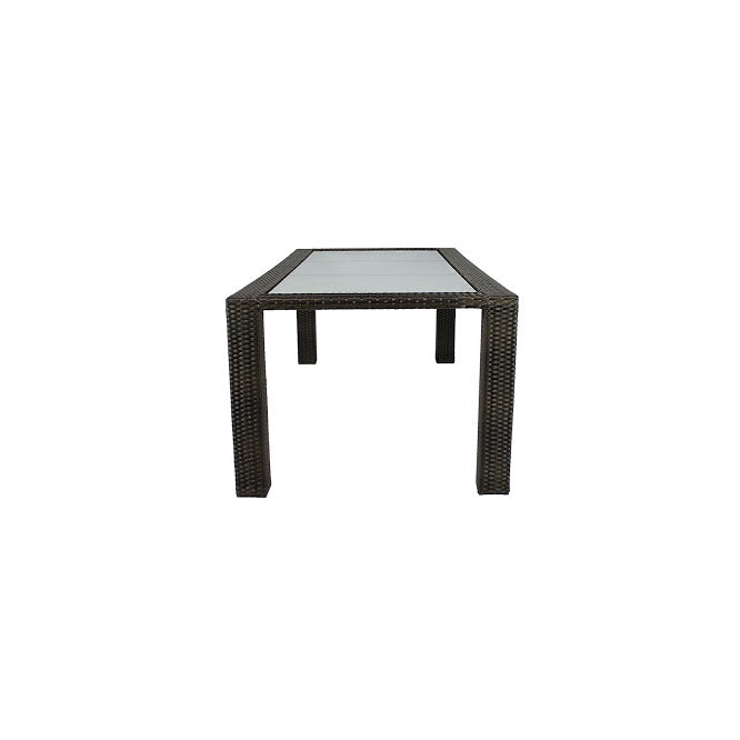 Zen Dining Table - Seats 8 (Rectangular) in Espresso