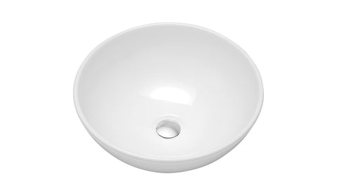 small round vessel sink