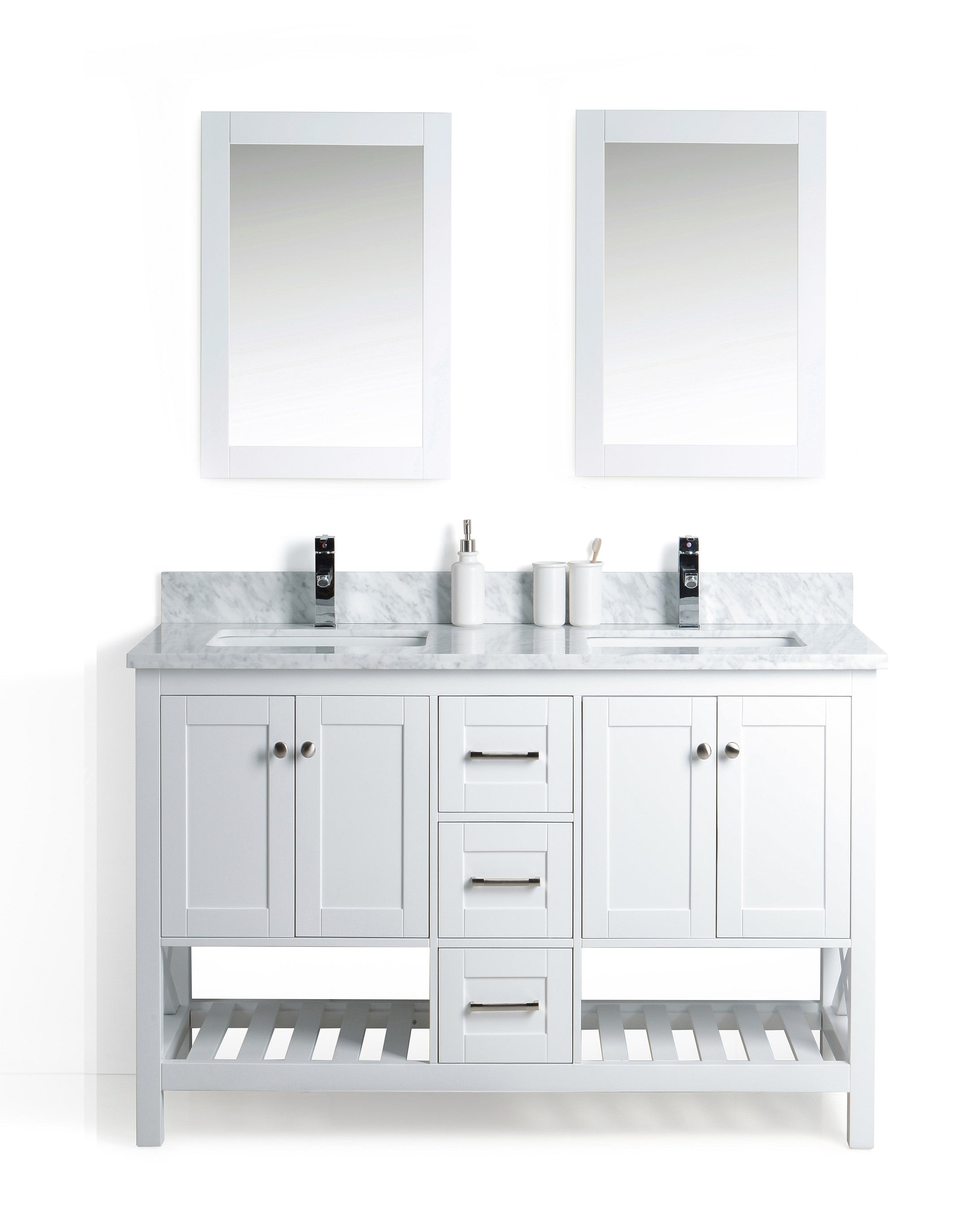 Pre-assembled Bathroom Cabinets