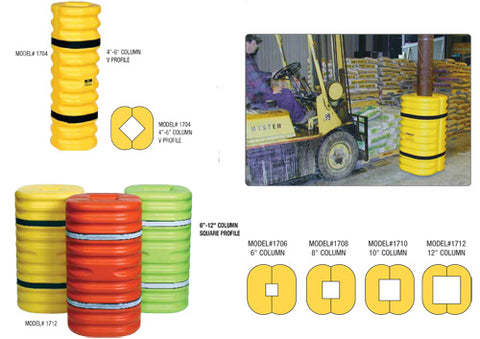 Column Protectors - Forklift Training Safety Products