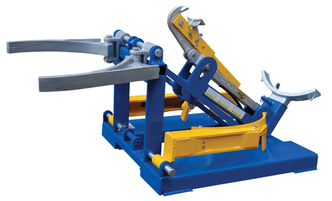 Deluxe Combination Fork Mounted Drum Lifter - Forklift Training Safety Products