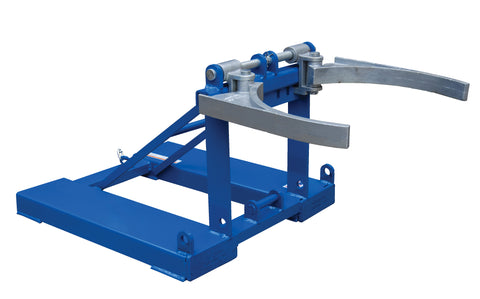 Fork Mounted Poly Drum Handler - Forklift Training Safety Products