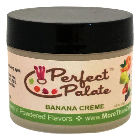 Perfect Palate™  Banana Creme Powdered Food Baking Flavor .6oz (16g) by More Than Cake - Cricket Creek