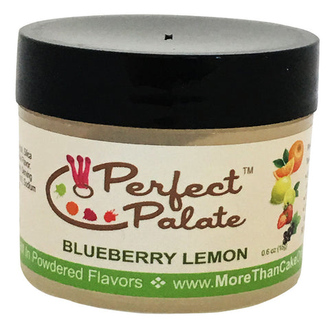 Perfect Palate™ Blueberry Lemon Powdered Food Baking Flavor .6oz (16g) by More Than Cake - Cricket Creek