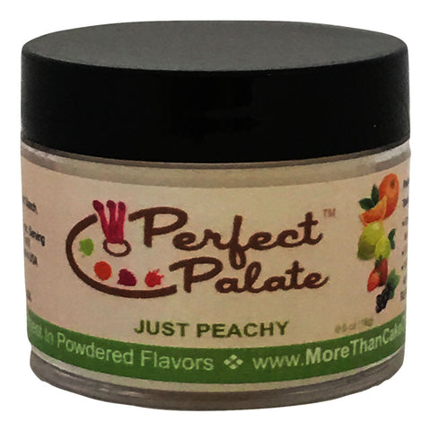 Perfect Palate™ Just Peachy Powdered Food Baking Flavor .6oz (16g) by More Than Cake - Cricket Creek