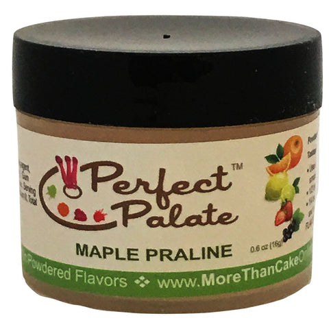 Perfect Palate™ Maple Praline Powdered Food Baking Flavor .6oz (16g) by More Than Cake - Cricket Creek