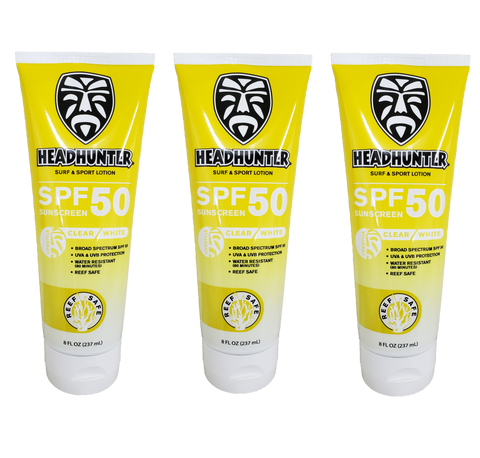 Reef Safe-SPF 50 Surf & Sport Spray 3-Pack / Free Shipping