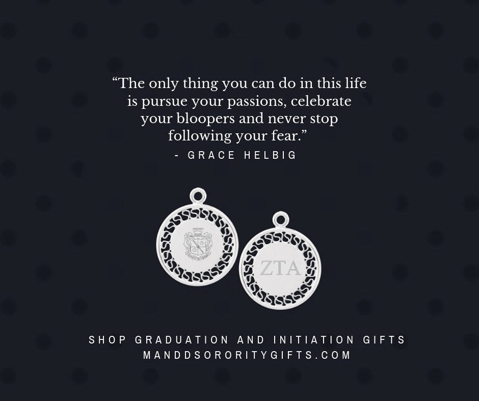Zeta Tau Alpha Initiation & Graduation Gifts + Quotes for Cards