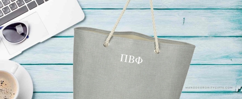 Sorority Beach Bagsthat will take your into fall