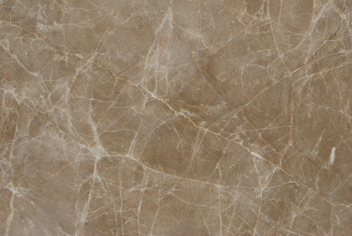 "Emperador Light Marble Tile - 18"" x 18"" x 1/2"" Polished"
