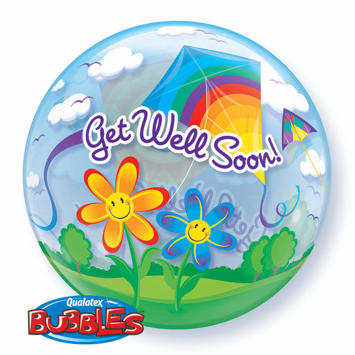 Bubble - Get Well Soon! Kites