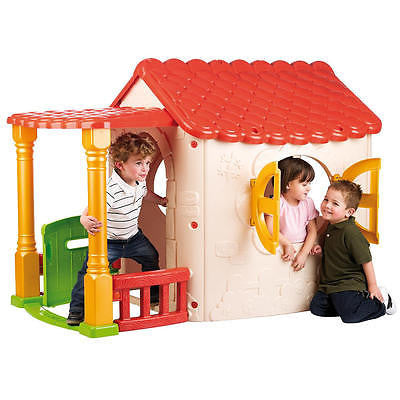 Lake Cottage Children's Playhouse by ECR4Kids