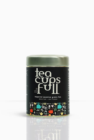 Jasmine and Green Tea, Buy Jasmine Green Tea online on Teacupsfull, Best Green Tea Brand in India