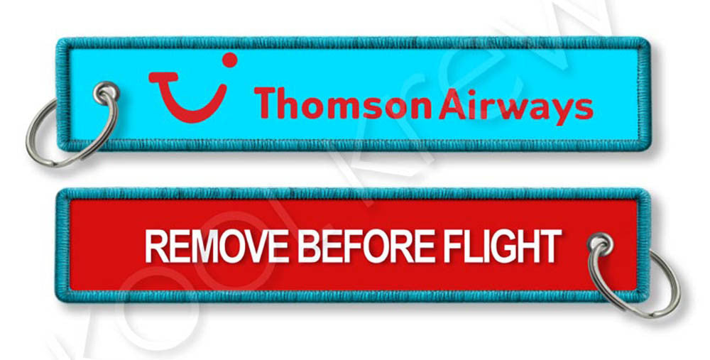 Thomson Airways (OLD Logo)-Remove Before Flight