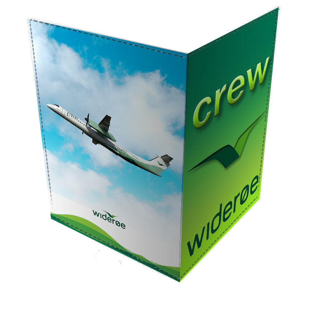 WIDEROE CREW Passport Cover