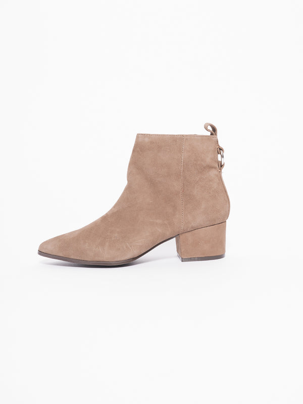 CLOVER Stivaletto scamosciato Taupe-Scarpe-STEVE MADDEN-TRYME Shop