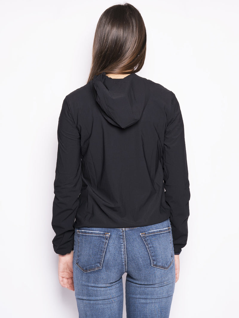 SUMMER FLEECE HOOD LADY Nero-Jacket-RRD-TRYME Shop