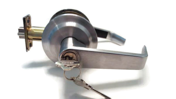 LSDA Grade 2 Commercial  Entry Lever Lock With Schlage Keyway