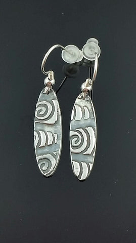 Celtic Baton Earrings