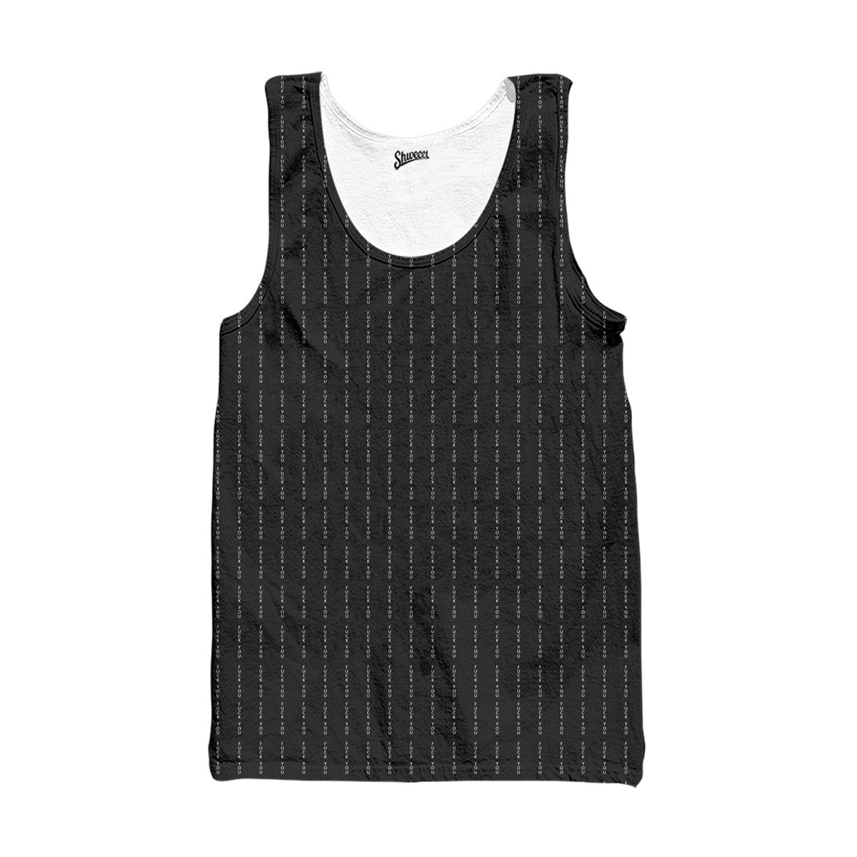 Fuck You Pinstripe Tank top