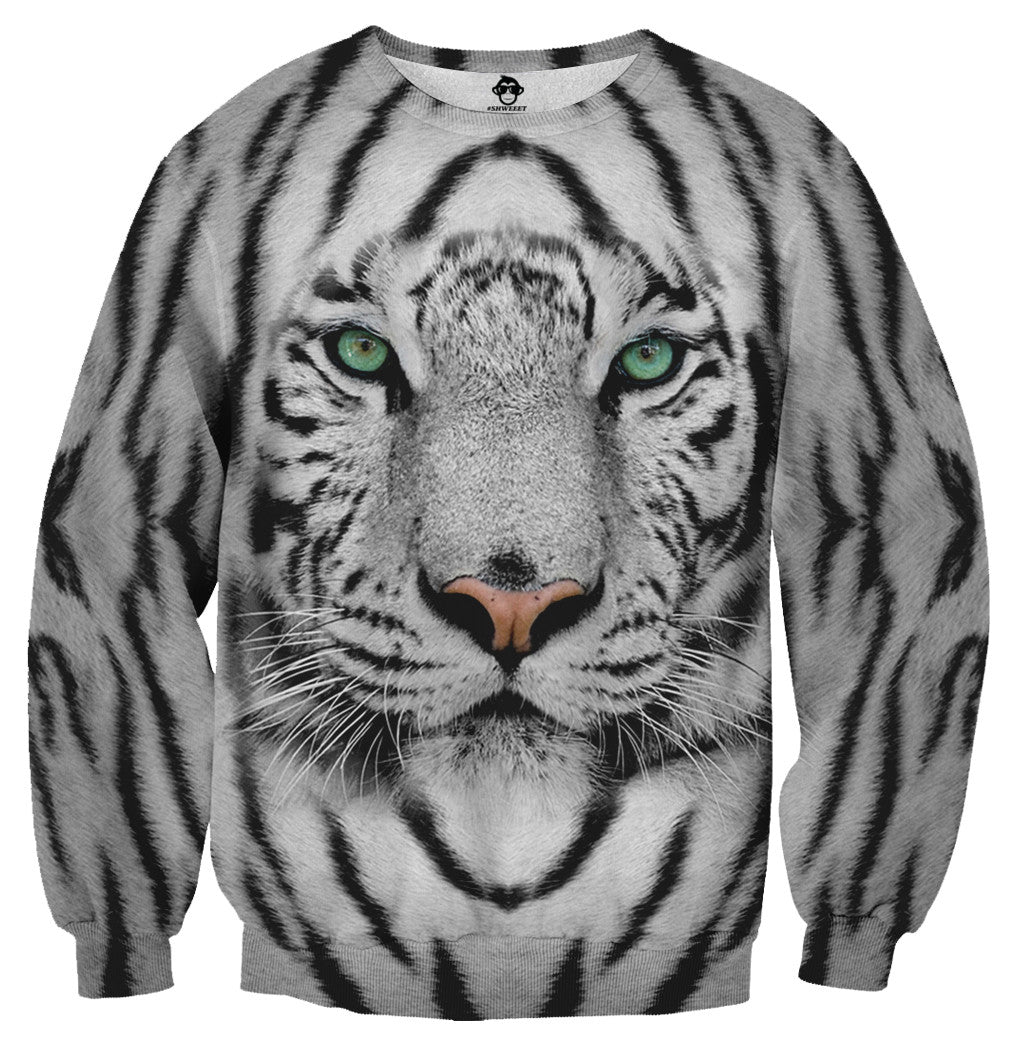 White Tiger Sweater