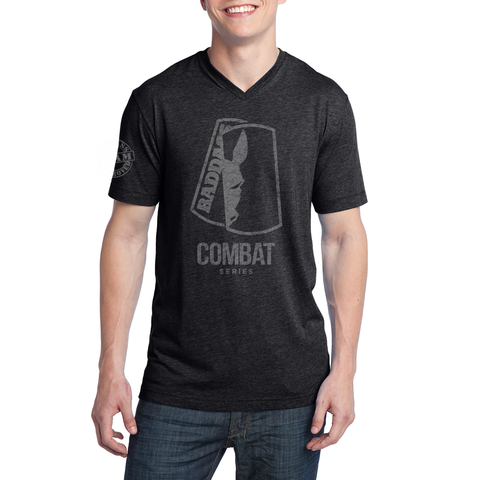 Men's Combat Pledge Tri Blend V-Neck