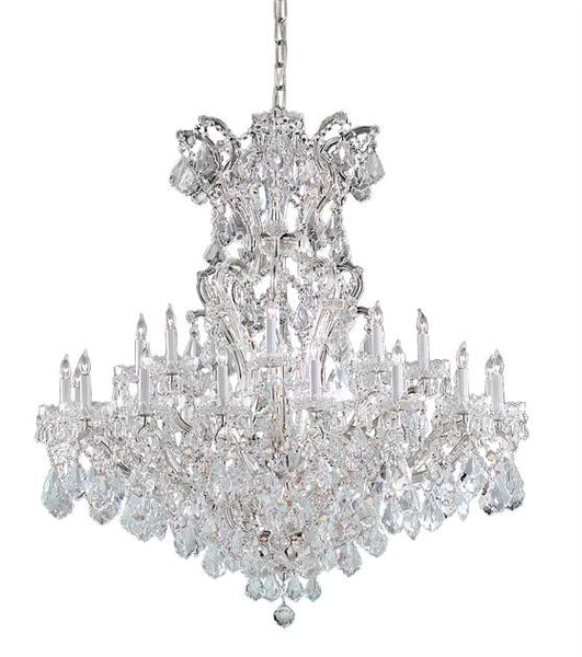Crystorama Maria Theresa 25 Light Clear Crystal Chandelier