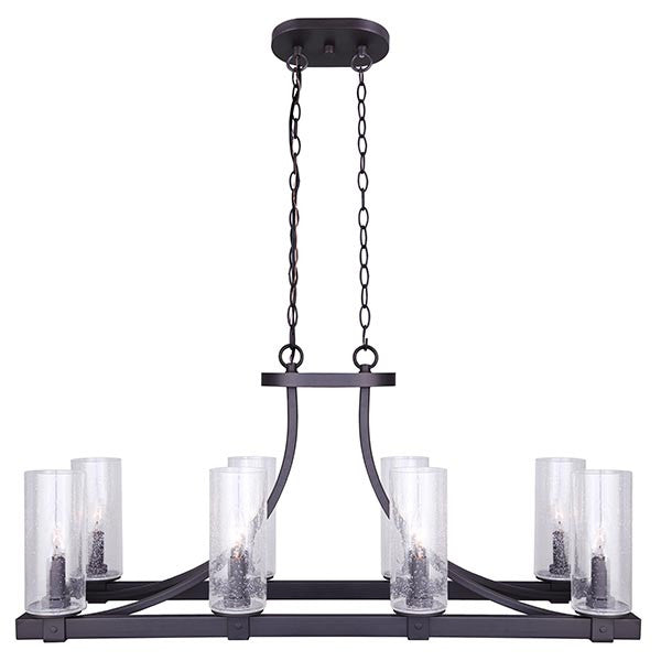 Canarm Nash 8 Light Chandelier