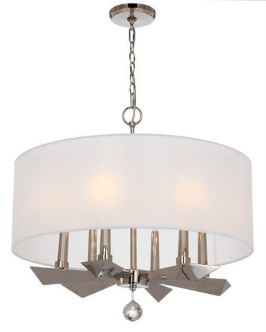 Crystorama 6 Light Palmer Chandelier