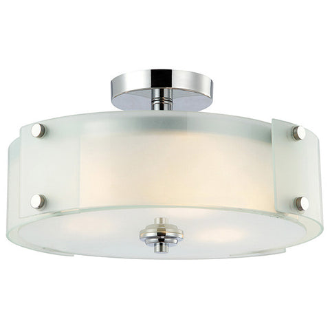 Canarm Ryker Semi Flush Mount Ceiling Light
