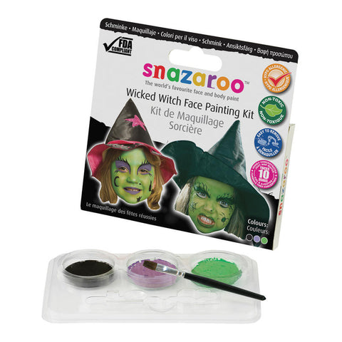 Wicked Witch Face Painting Kit